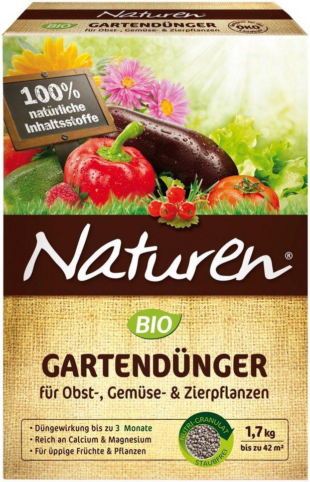 Spezialdünger »NATUREN Bio Gartendünger« in bunt