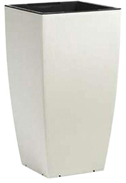 Pflanzgefäß »Casa Matt«, weiß in weiß