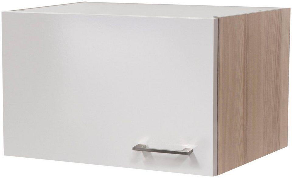 Küchenhängeschrank »Oregon«, Breite 60 cm in perlmuttfarben/akaziefarben
