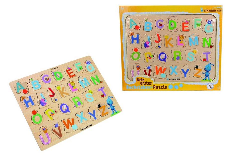 Dein erstes Buchstaben-Puzzle, KiKANiNCHEN