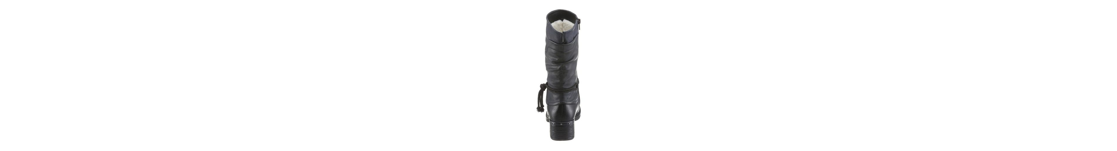Rieker Winterstiefel, in derber Optik