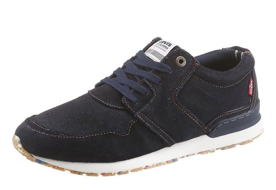 Levi's® »NY Runner« Sneaker mit Logo Applikation in dunkelblau