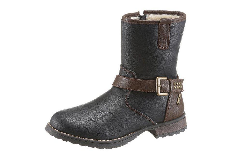 Lico »Maren« Stiefel mit Tex Ausstattung in schwarz-braun