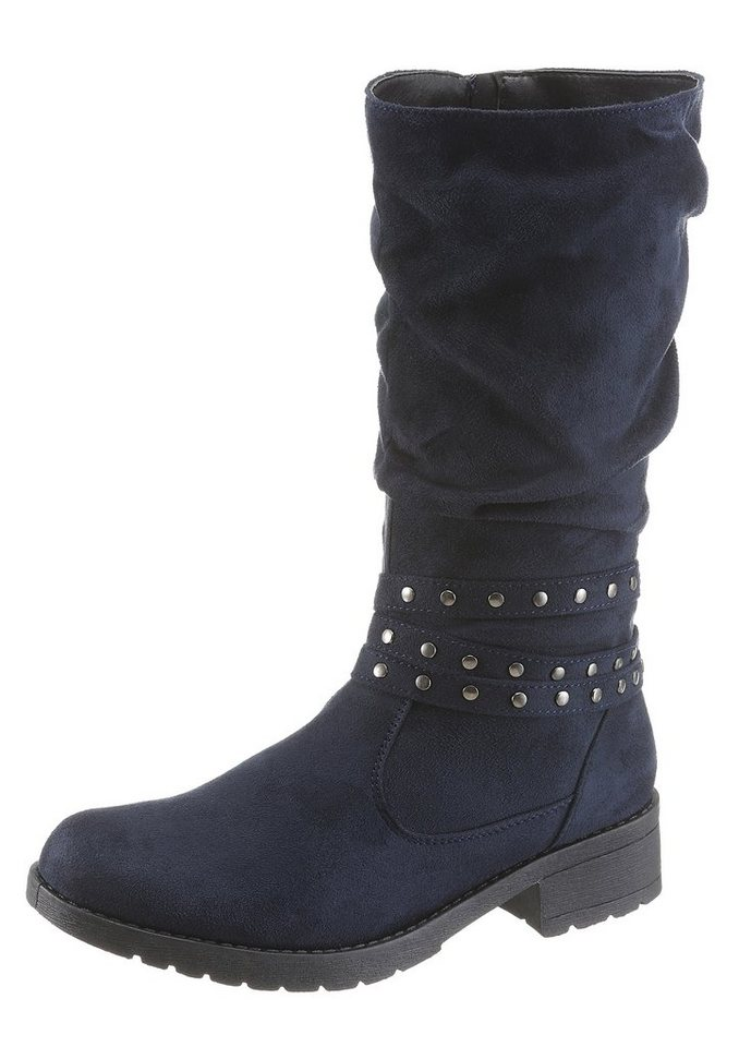 CITY WALK Stiefel in blau