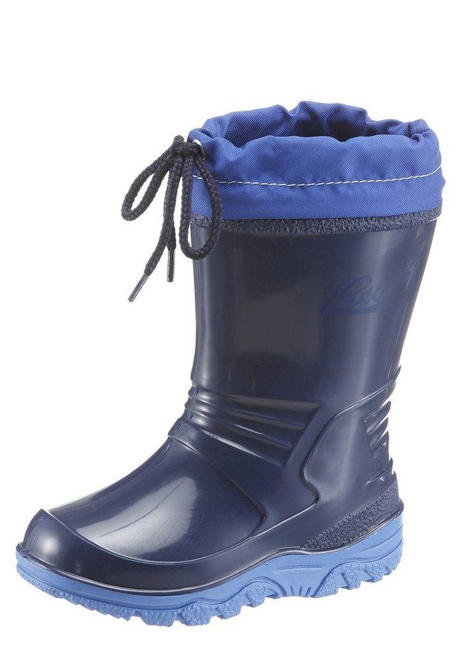 Lico »Punto« Gummistiefel rutschhemmend in marine-blau