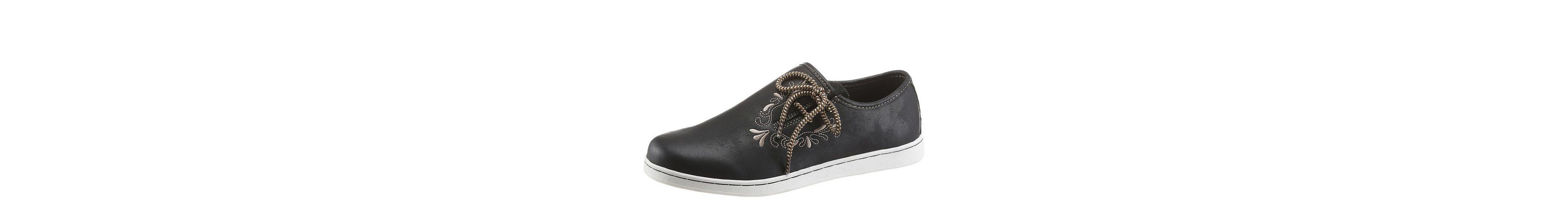 PETROLIO Sneaker, im Trachtenlook