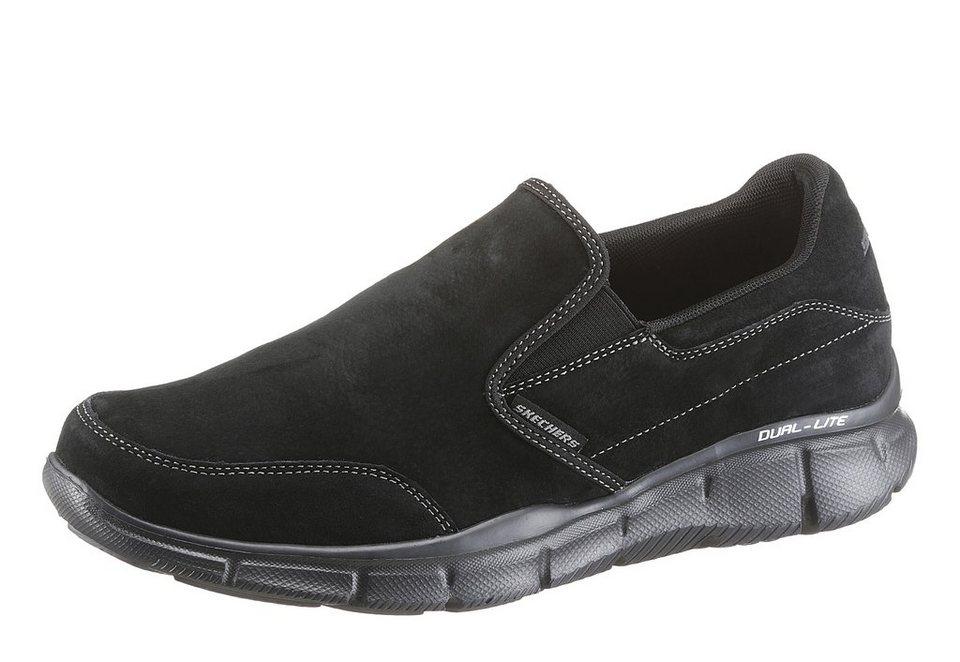 Skechers Slipper mit Skechers Memory Foam in schwarz