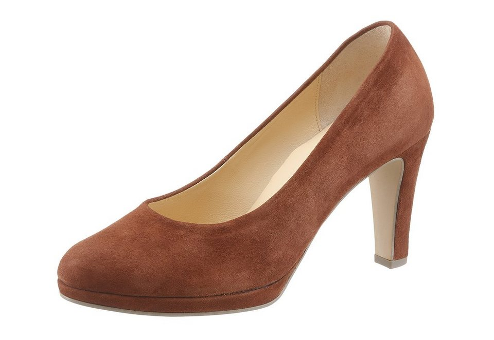 Gabor Pumps in cognac