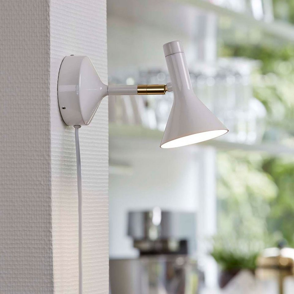 Licht-Trend Wandleuchte »Reader LED Wandspot mit integriertem Dimmer« in Weiß