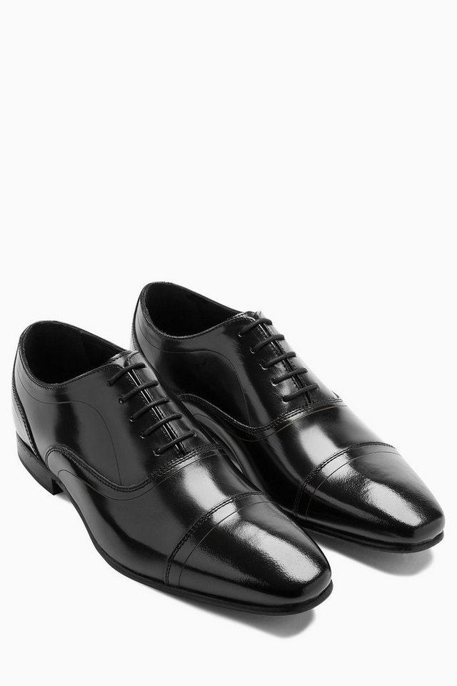 Next Oxford-Schuh mit Zehenkappe in Schwarz