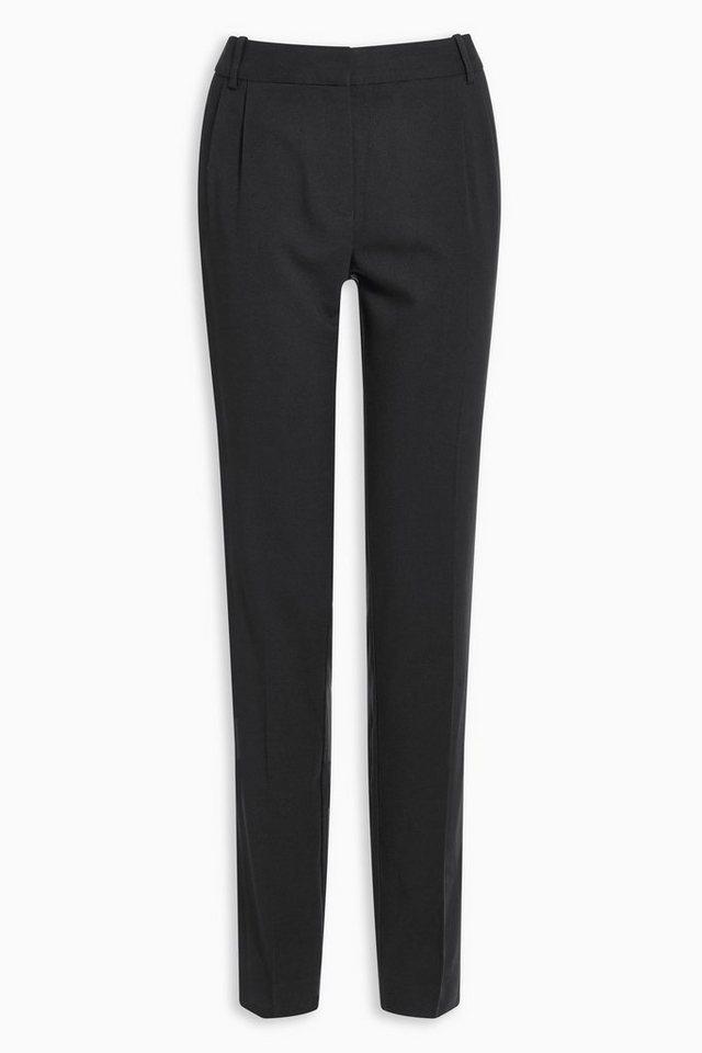 Next Hose mit schmal zulaufendem Bein in Schwarz
