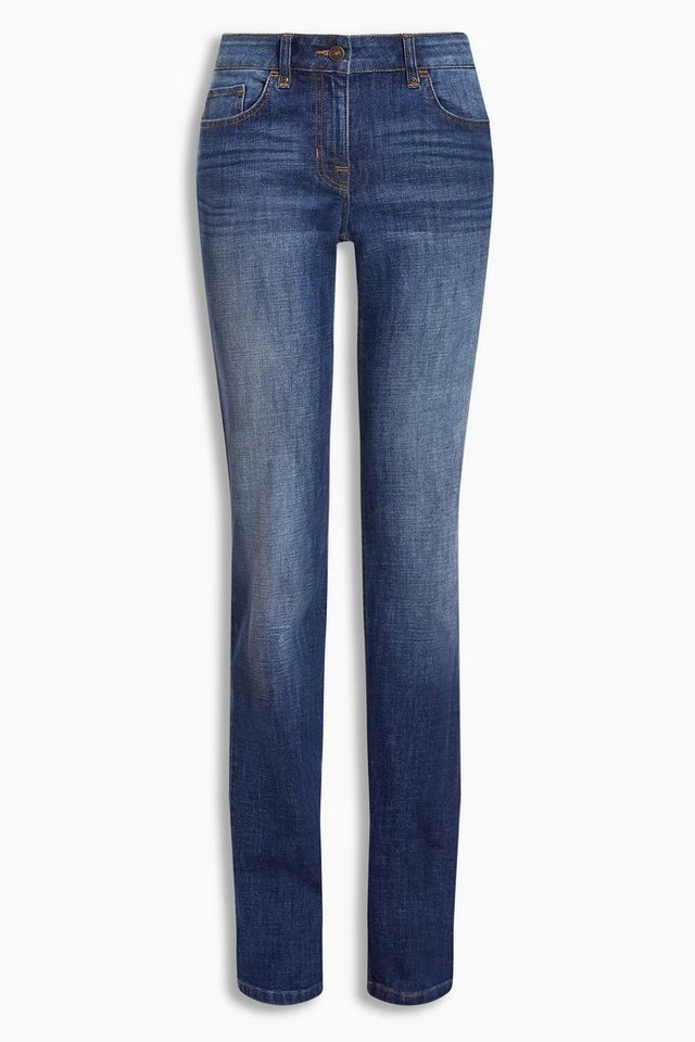 Next Slim-Fit Jeans in Dark Blue