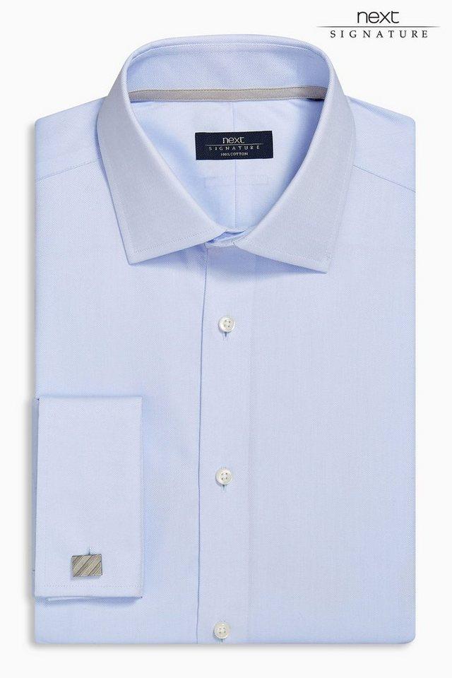 Next Oxford-Hemd in Blau Slim-Fit