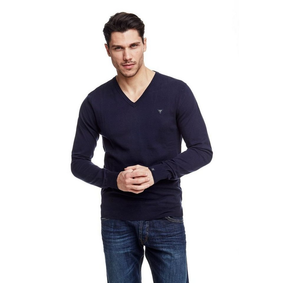 Guess Pullover »Lucero« in Dunkelblau