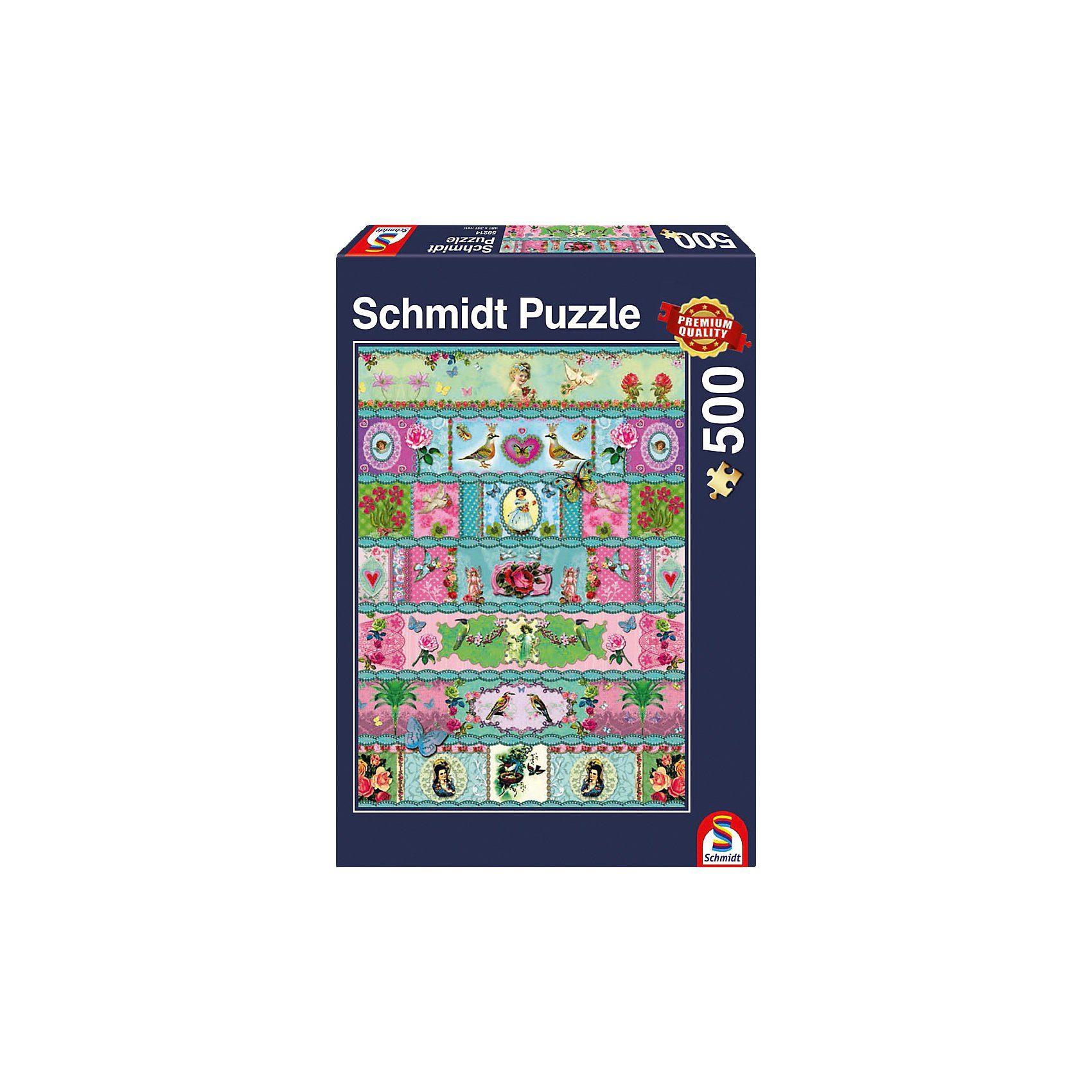 Schmidt Spiele Paradies-Banderolen Puzzle 500 Teile