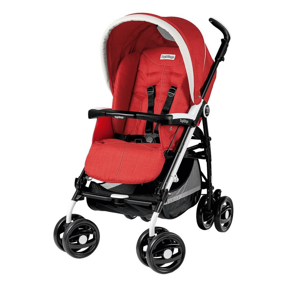Peg Perego Buggy Pliko P3 Compact Classico, Sunset, 2016 in rot