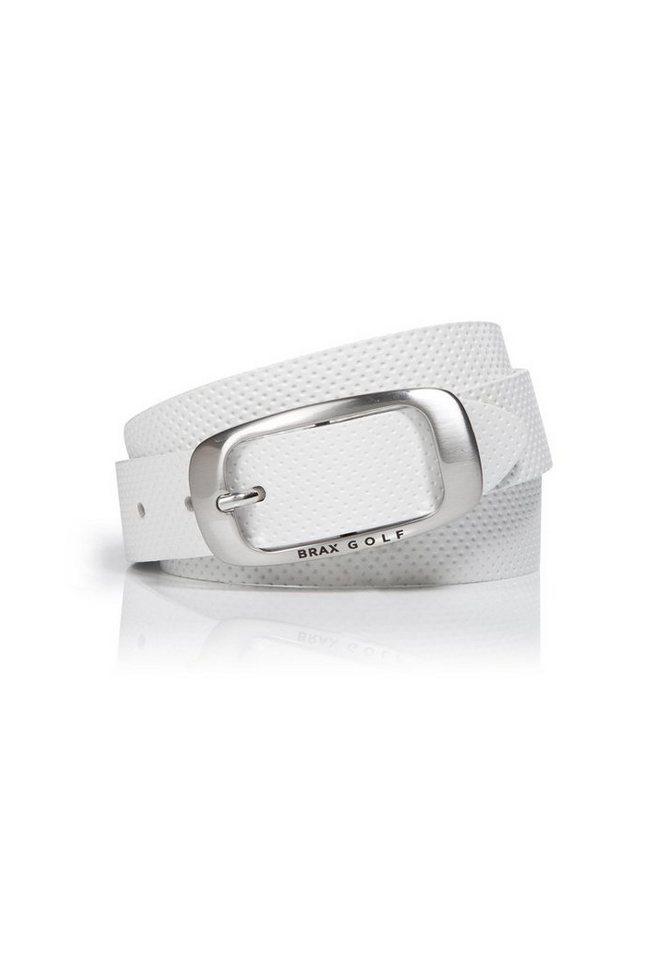 BRAX GOLF Gürtel »BELT« in WHITE