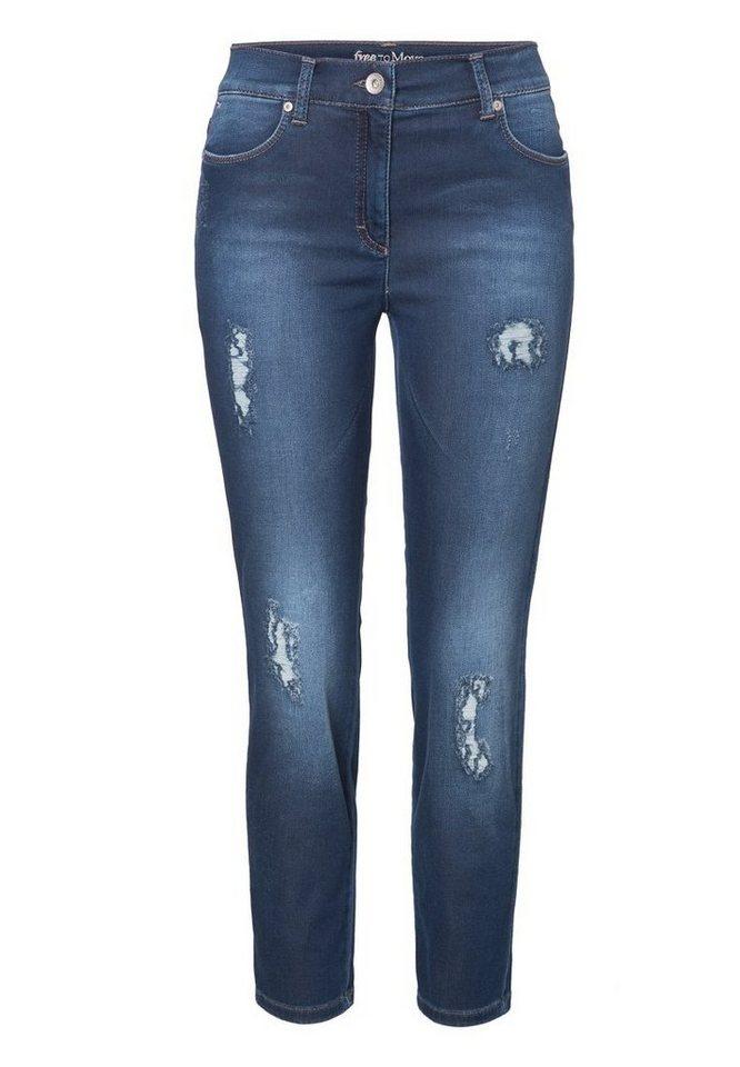 BRAX Jeans »SHAKIRA S JOGGI« in REGULAR BLUE