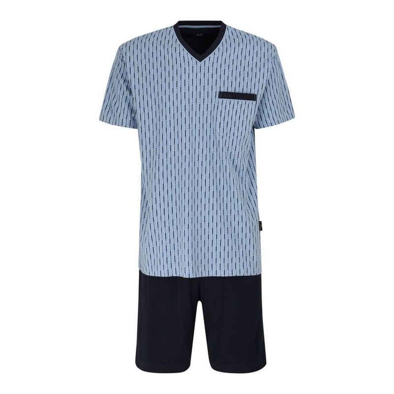 GÖTZBURG Shorty (Set, 2 tlg) Schlafanzug, Shorty, kurzer Pyjama mit V-Ausschnitt, auch in Übergrößen