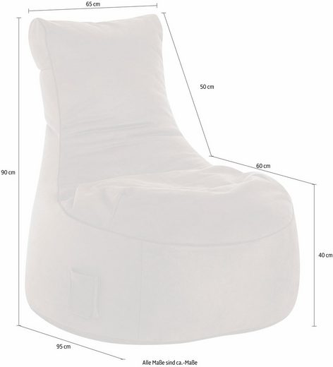 Sitting Point Sitzsack »Swing CUBA«