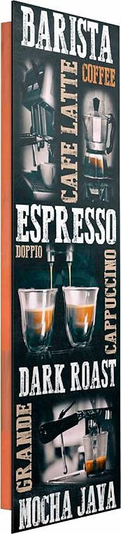 Home affaire Deco Panel »Anyone For Coffee II«, 30/90 cm