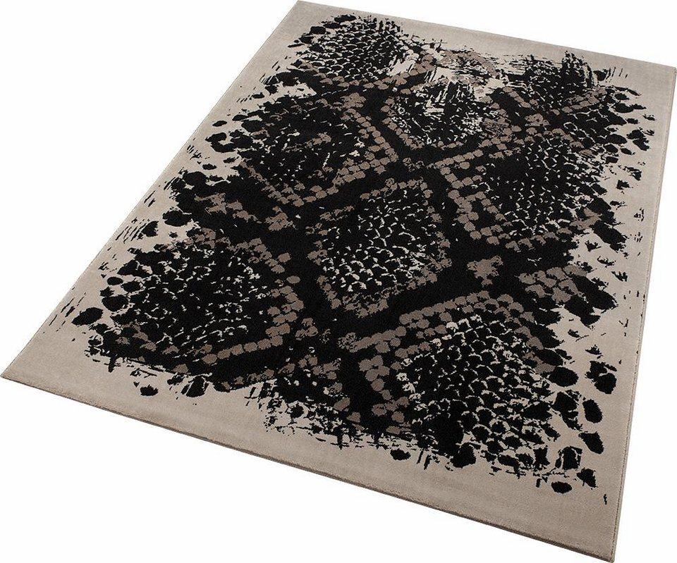 Teppich, Wecon Home, »Phyton«, Animalprint in braun