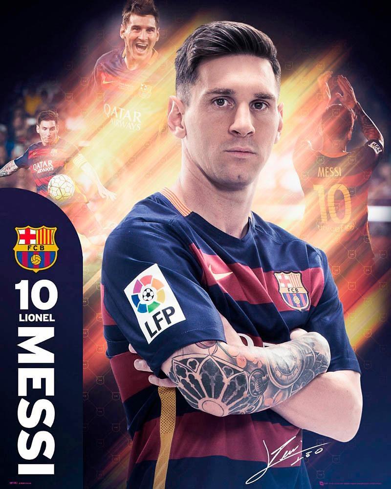 Home affaire Deco Panel »Messi Barcelona«, 40/50 cm