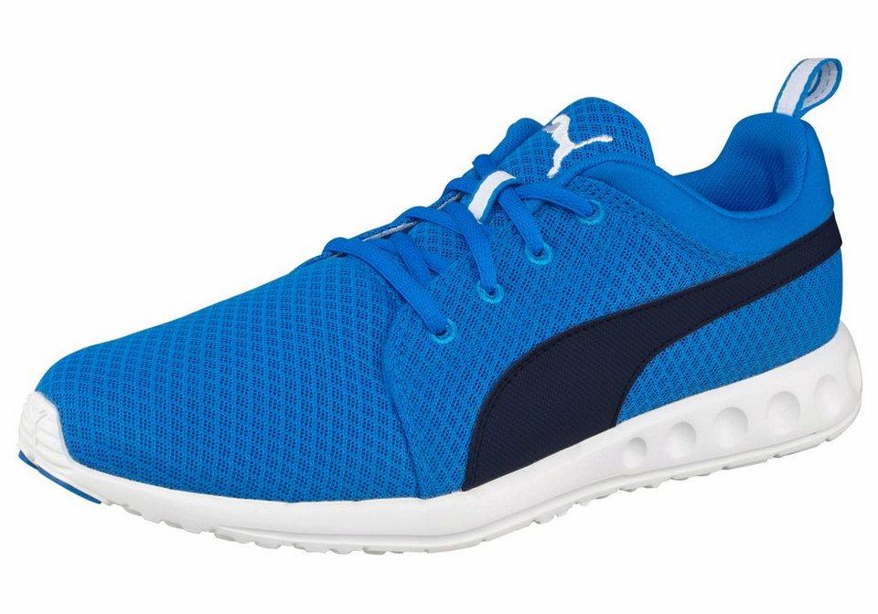 PUMA »Carson Mesh« Sneaker in royalblau-schwarz