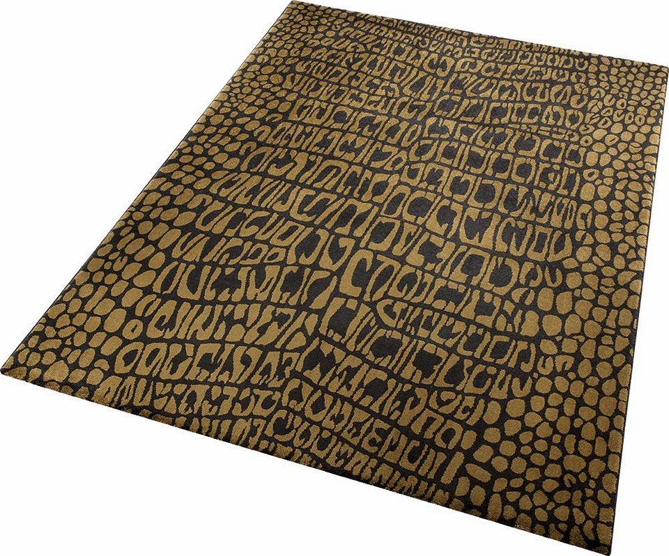 Teppich, Wecon Home, »Croco« in braun