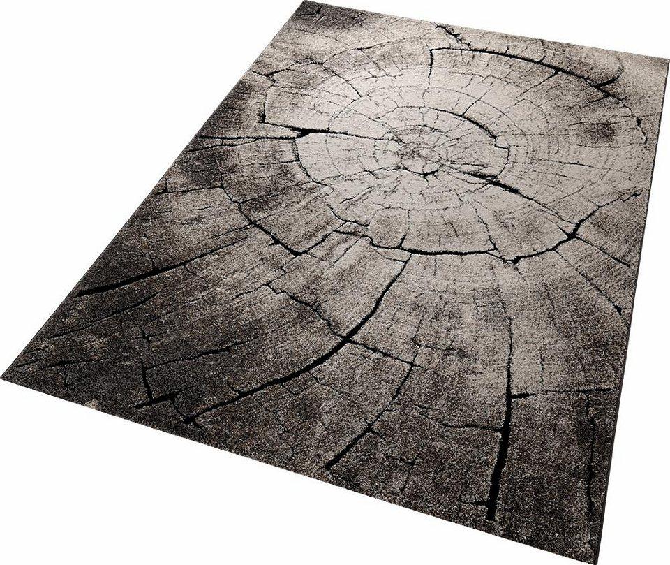 Teppich, Wecon Home, »Wild Oak«, Holz Optik in braun