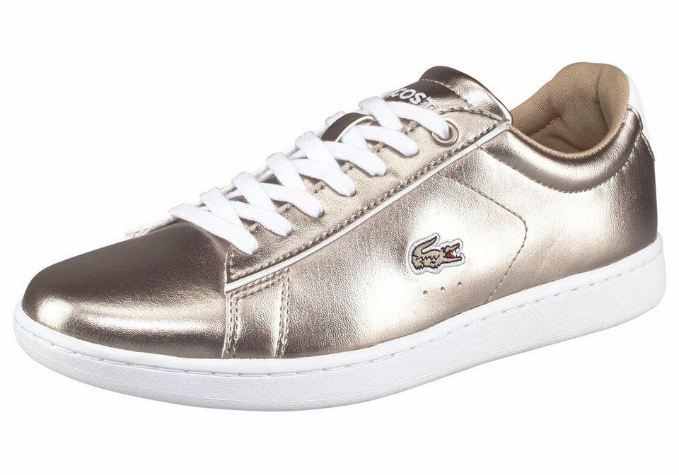 Lacoste »Carnaby EVO 316 2 SPW« Sneaker in goldfarben