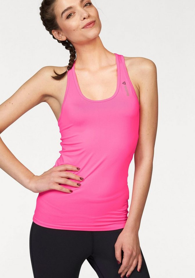 Reebok Tanktop »Workout Ready Fitted Tank« in pink
