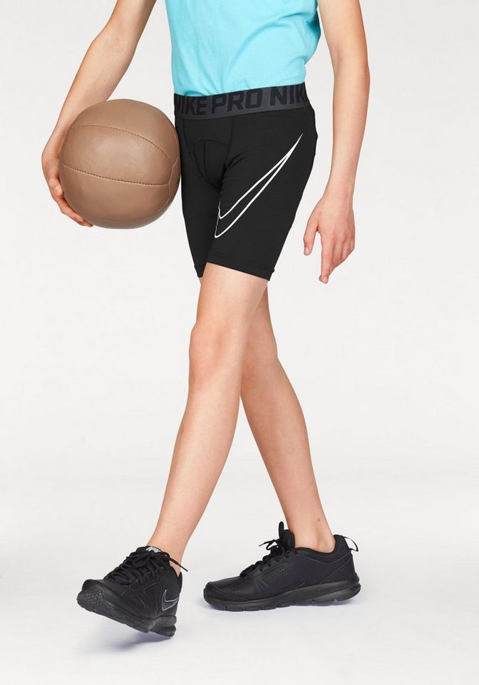 Nike Funktionsshorts »COOL HBR COMPRESSION SHORT YOUTH« in schwarz