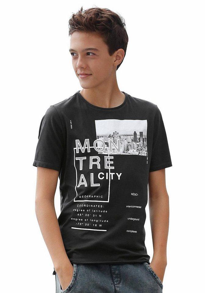 s.Oliver RED LABEL Junior T-Shirt in schwarz