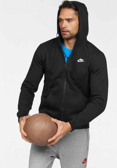 e026586da341e3 Nike Sportswear Kapuzensweatjacke »NSW HOODIE FULLZIP FLEECE CLUB«
