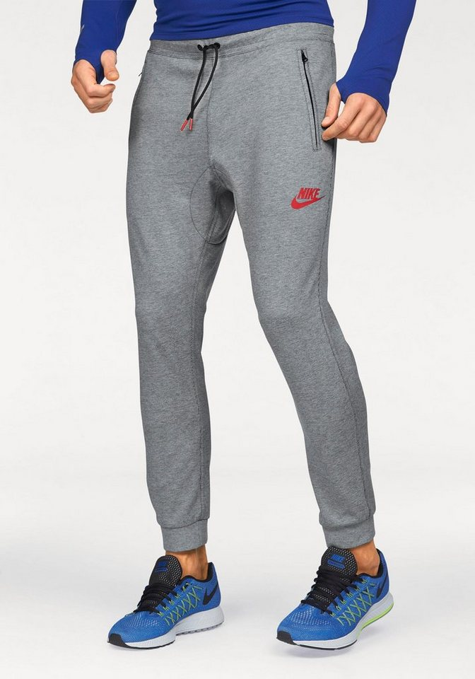 Nike Jogginghose »NSW AV15 JOGGER FLEECE« in grau-meliert