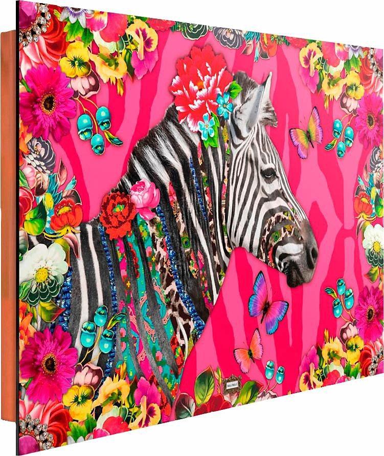 Home affaire Deco Panel »Melli Mello - zebra 2.0«, 90/60 cm in bunt