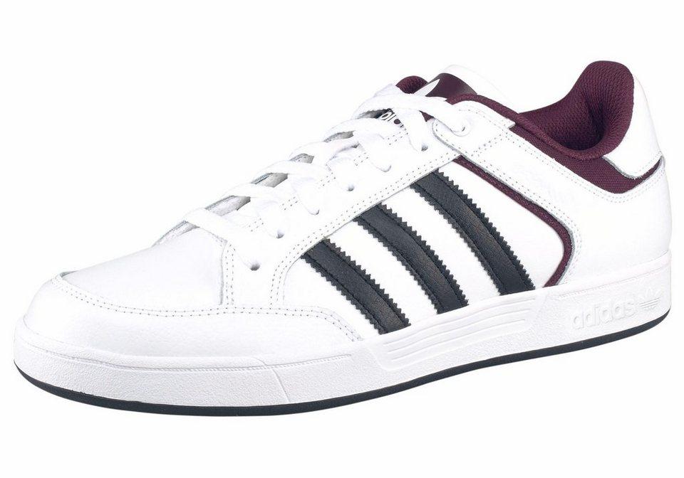 adidas Originals »Varial Low« Sneaker in weiß-bordeaux