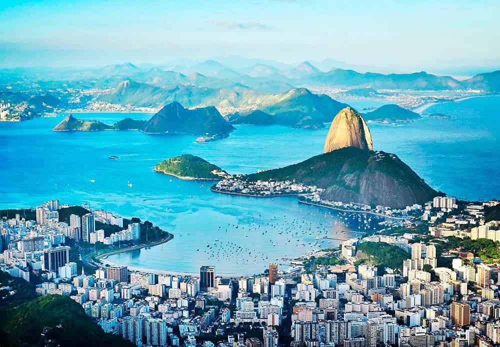 Home affaire Fototapete »Rio«, 366/254 cm