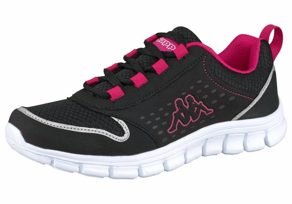 Kappa »Amora« Sneaker in schwarz-pink
