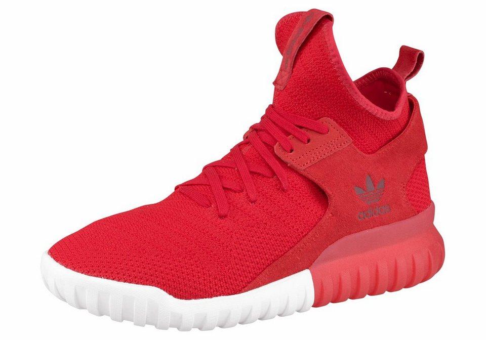 Adidas Tubular Schwarz Rot