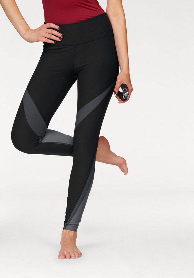 Nike Funktionstights »PRO POWER LEGEND TIGHT FABRIC TWIST« in schwarz-grau