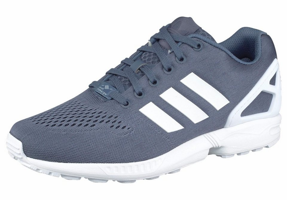 adidas Originals »ZX Flux EM« Sneaker in rauchblau