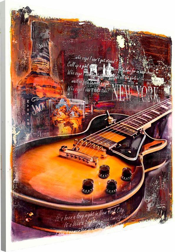 Home affaire Deco Block »Blues Nacht«, 90/90 cm