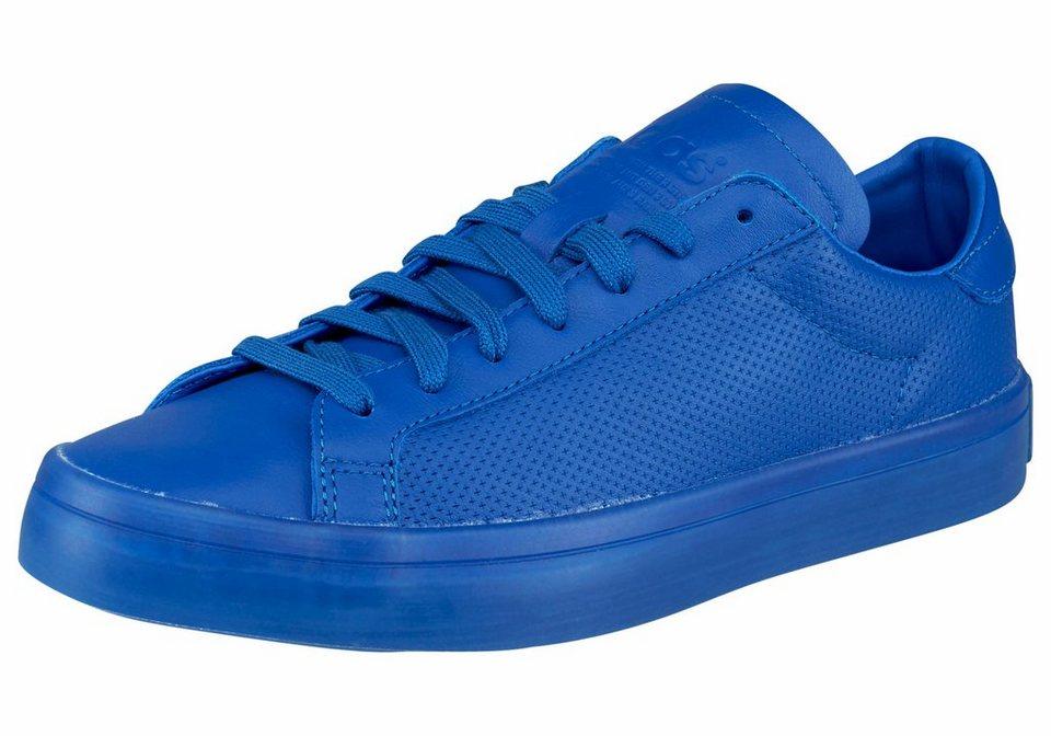 adidas Originals Court Vantage adicolor Sneaker in Blau