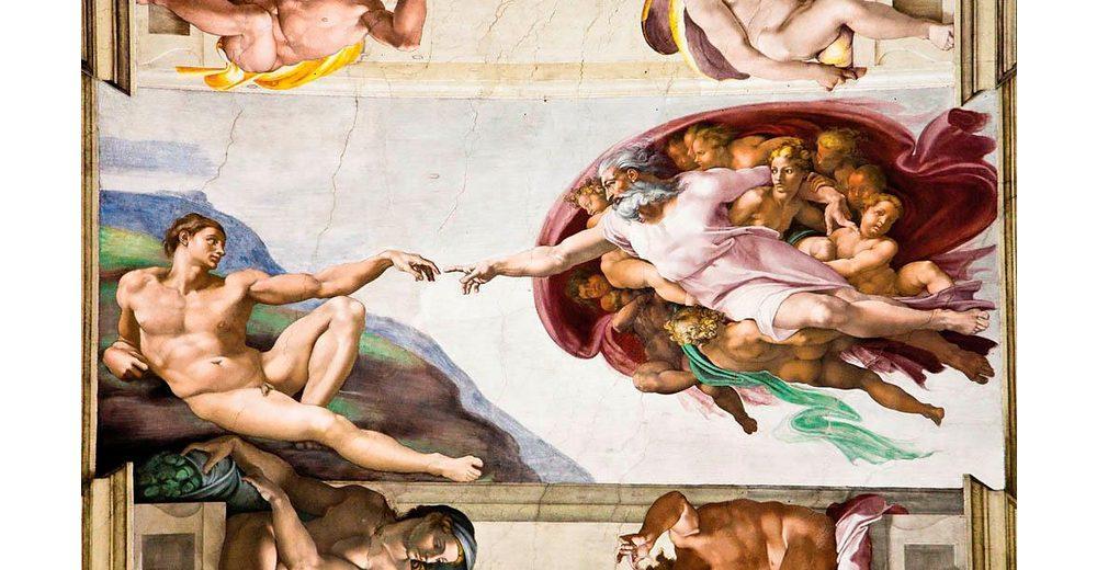 Home affaire Fototapete »Michelangelo«, 368/254 cm