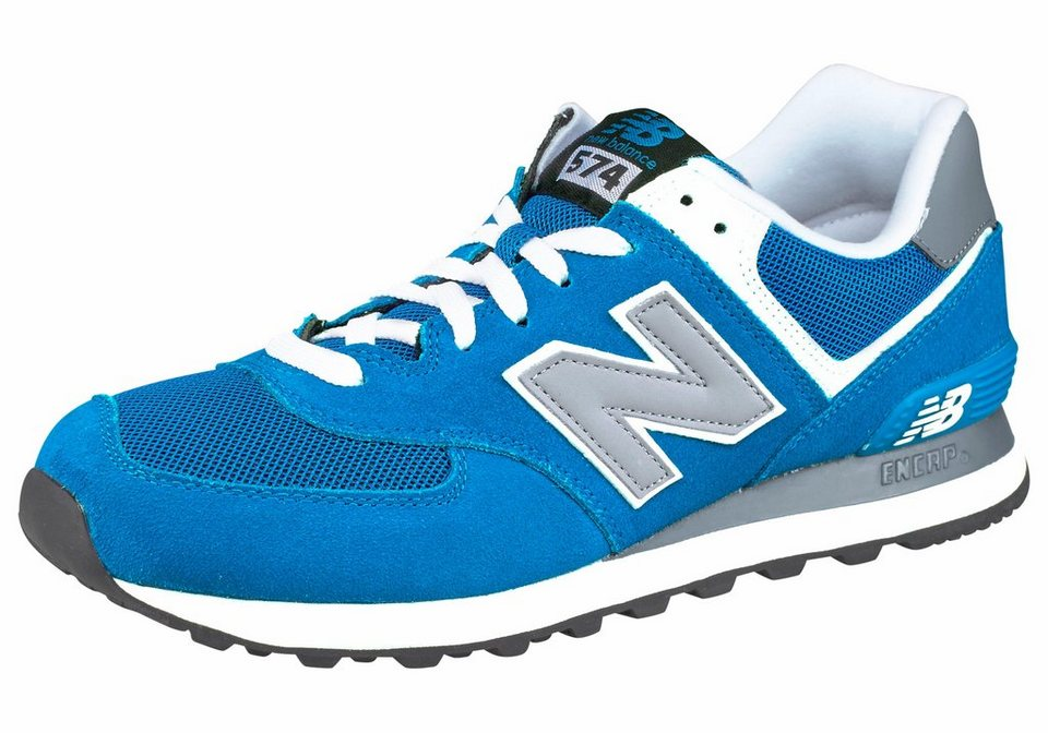 New Balance ML574 Sneaker in Royalblau-Grau