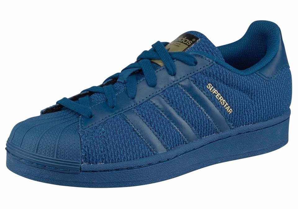 adidas Originals »Superstar« Sneaker Kinder in dunkelblau