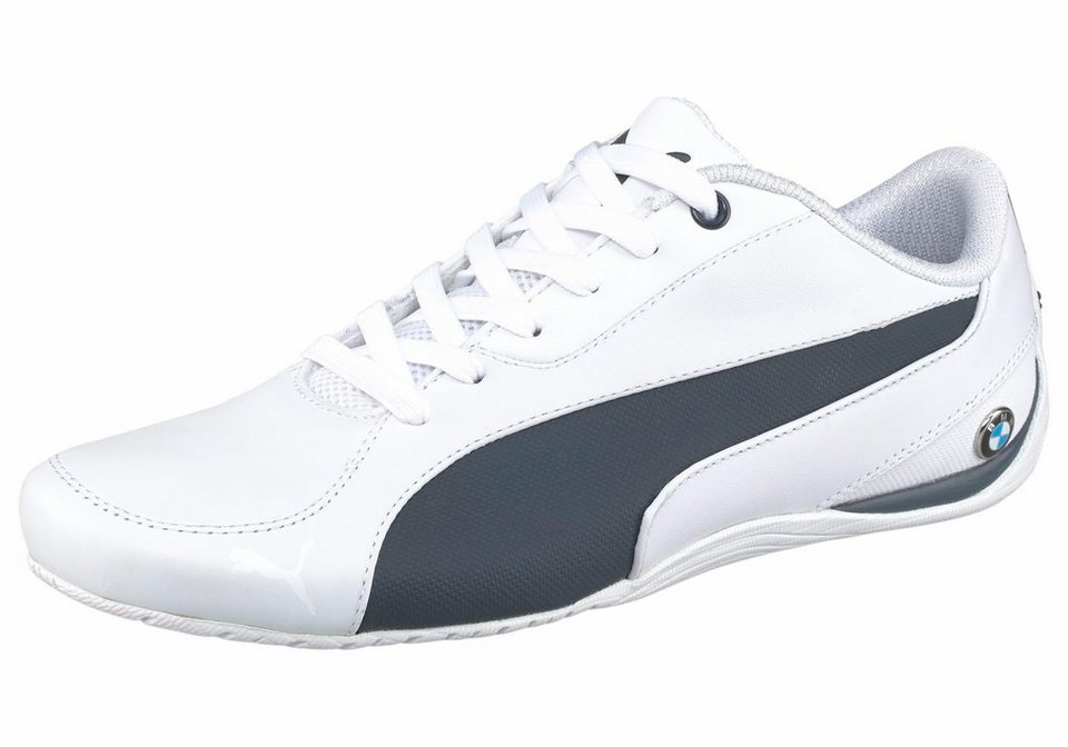 PUMA Sneaker »BMW MS Drift Cat 5« in weiß-dunkelblau
