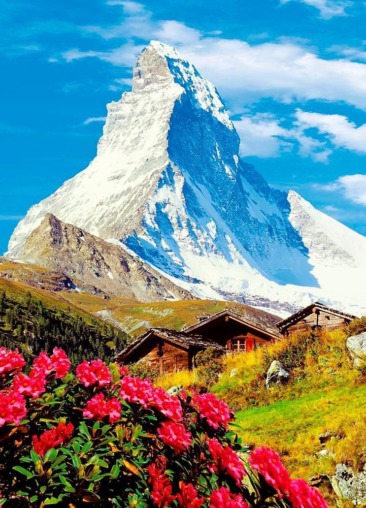 Home affaire Fototapete »Matterhorn«, 183/254 cm